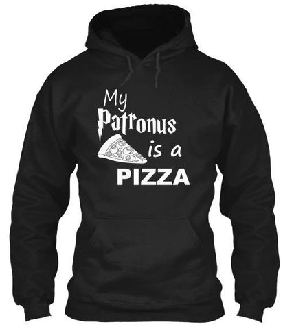 Tshirt , Hoodies - My Patronus Is A Pizza