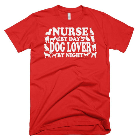 Tshirt , Hoodies - Nurse By Day Dog Lover By Night
