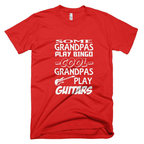 Tshirt , Hoodies - Some Grandpas Play Bingo Cool Grandpas Play Guitars