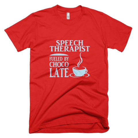 Tshirt , Hoodies - Speech Therapist Fueled By Choco Late