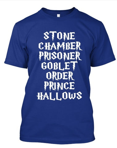 Tshirt , Hoodies - Stone Chamber Prisoner Goblet Order Prince Hallows