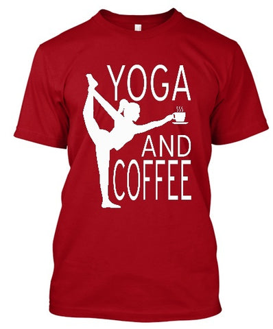 Tshirt , Hoodies - Yoga And Coffee