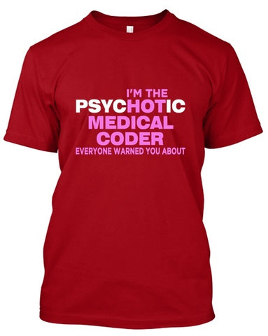 Tshirt - Hot Medical Coder