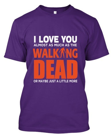 Tshirt - I LOVE WALKING DEAD