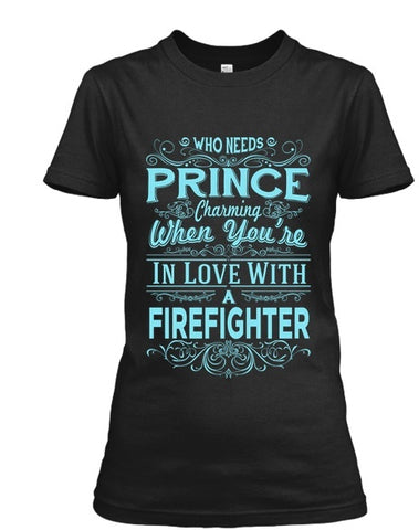 In love with a firefighter