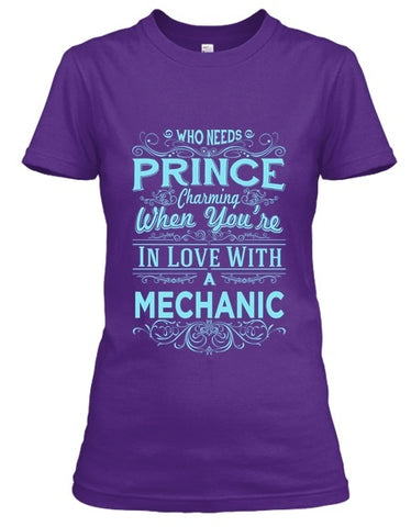 Tshirt - In Love With A  Mechanic