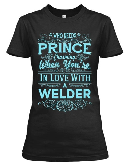 Tshirt - In Love With A  Welder