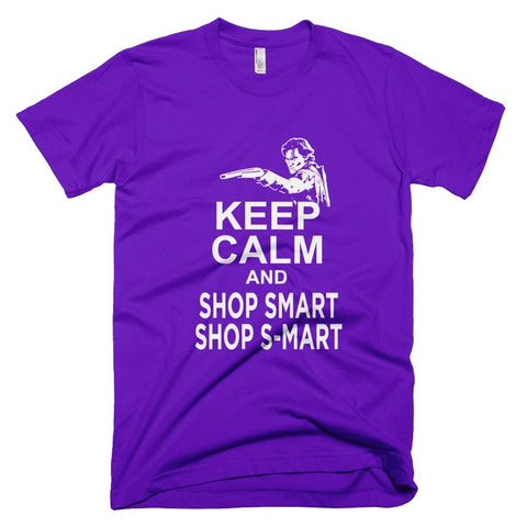 Tshirt - Keep Calm And Shop Smart Shop S-Mart