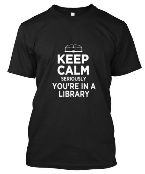 Tshirt - Keep Calm Library