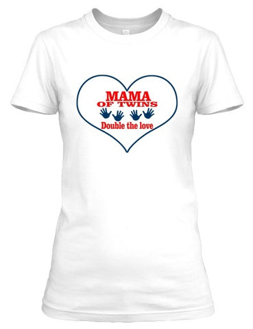 Tshirt - Mama Twins Double The Love