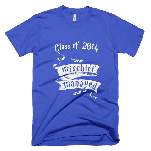 Tshirt - Mischief Managed Class Of 2014