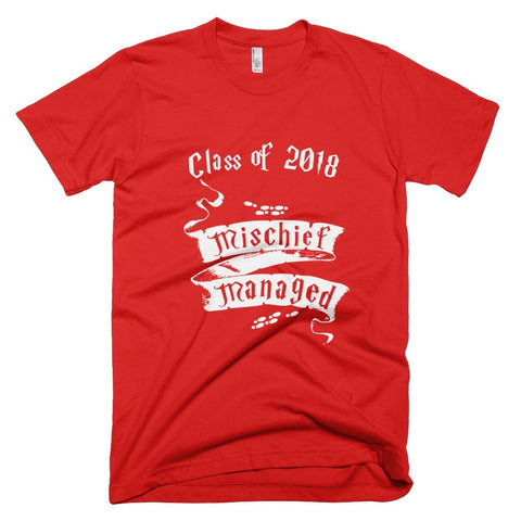 Tshirt - Mischief Managed Class Of 2018