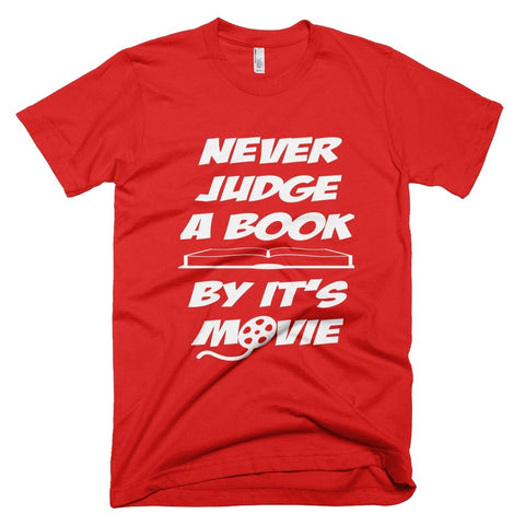 Tshirt - New Judge A Book By Its Movie Tshirt