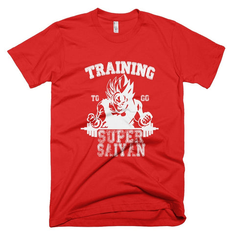 Tshirt - Training To Go Super Saiyan