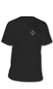 4171 Tee Black/White - Fuel Clothing  - 1