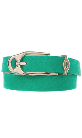 Minkpink   Game Set Match Belt Teal - Fuel Clothing