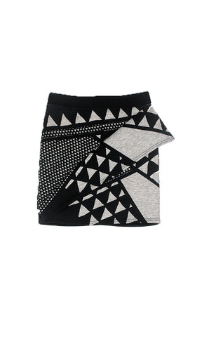 Minkpink Abstraction Skirt Multi - Fuel Clothing  - 1