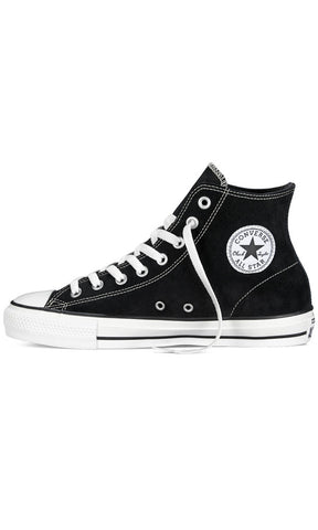 0e5c1ed23b7524 Converse Ct Pro Skate High Black Suede - Fuel Clothing - 1. Images   1   2    3