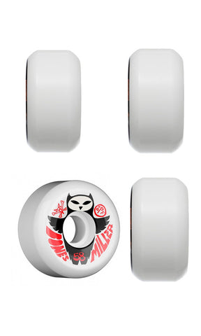 Bones Wheels SPF Miller Owl White - Fuel Clothing  - 1