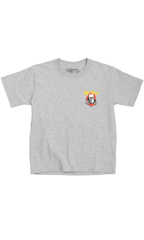 Powell Peralta Ripper Tee Youth Grey