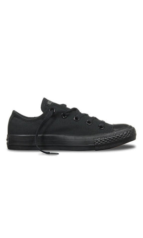 Converse Chuck Taylor Low Core Black Mono - Fuel Clothing  - 1