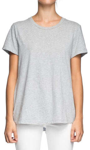 Elwood Core Crew Tee Grey Marle - Fuel Clothing
