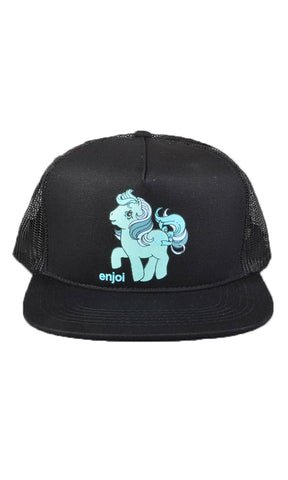 Enjoi My Little Pony Snapback - Black/Teal