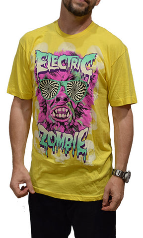 Electric Zombie Party Animal Tee - Fuel Clothing