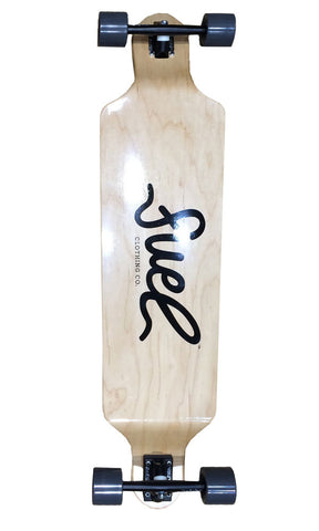 Fuel Script Longboard Complete Skateboard - Fuel Clothing  - 1