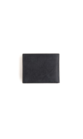 Stitch & Hide George Wallet Steel/Black - Fuel Clothing  - 1