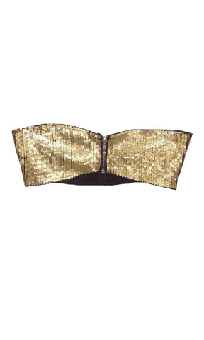 Minkpink Zip Thru Bra Sequin - Fuel Clothing