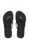 Havaianas Slim Crystal Black/Black - Fuel Clothing  - 1
