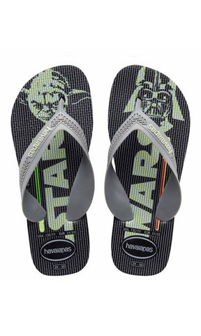 Havaianas Kids Max Star Wars Black - Fuel Clothing