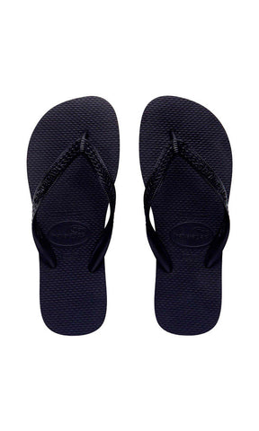 Havaianas Kids Top Thongs Black - Fuel Clothing  - 1