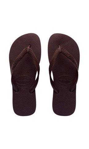 Havaianas Kids Top Thongs Brown - Fuel Clothing