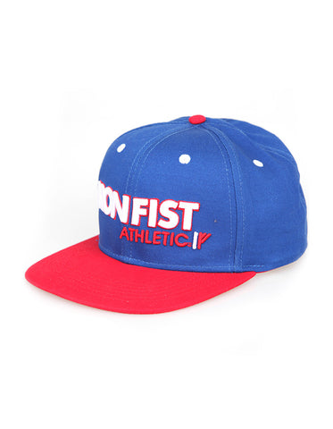 Iron Fist Athletic Snapback Blue
