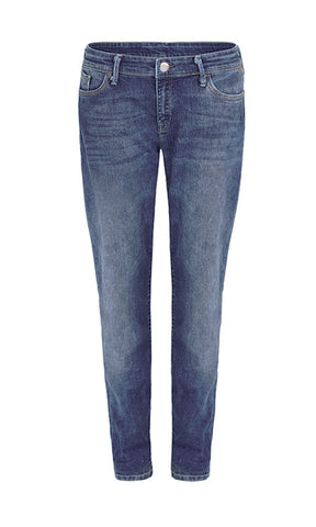 Mavi Jeans Marni Mid Boyfreind  Washed Denim