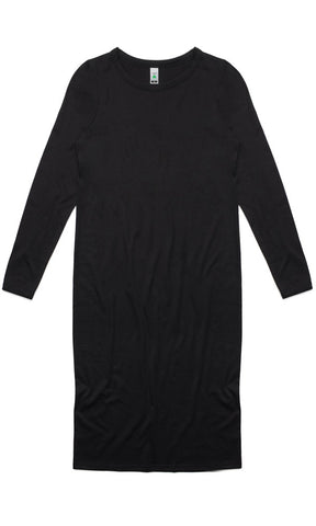 AS Colour Mika Long Sleeve Dress Black