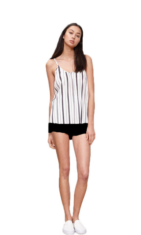 Minkpink Stripe Pleated Cami - Fuel Clothing  - 1