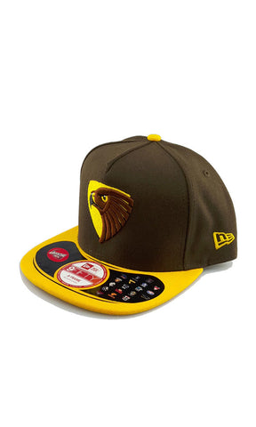 New Era 950 AFL Snapback Hawthorn Hawks - Fuel Clothing