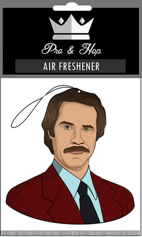Pro N Hop Air Freshener Ron Burgundy