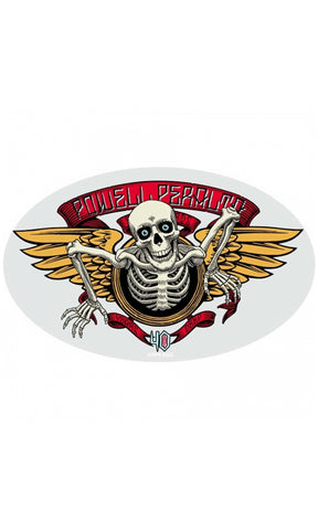 Powell Peralta Winged Ripper 40 Years Deep Sticker 5""