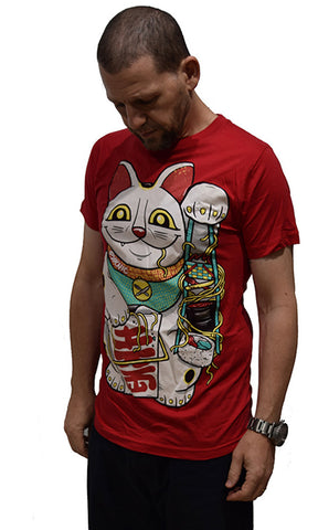 Pyknic Lucky Cat Tee - Fuel Clothing