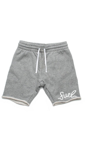 Fuel Script Kids Trackie Short Grey
