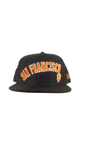 New Era 5950 MLB Absolute Script SF Giants - Fuel Clothing