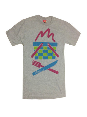 Pyknic Basket Kids Tee Grey - Fuel Clothing