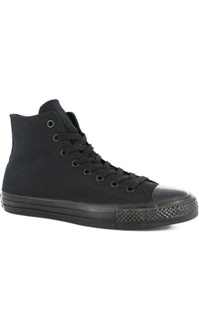 Converse Ct Pro Skate High Black Mono - Fuel Clothing  - 1