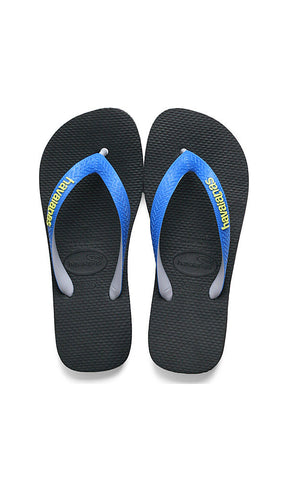 Havaianas Top Mix Kids Black/Blue - Fuel Clothing