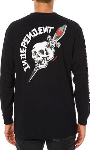 Independent Skateboards Dressen Dagger L/S Tee