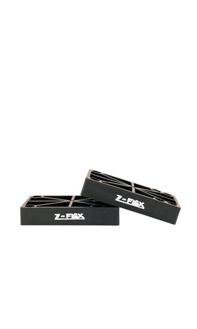 Z-Flex Riser Pads Black - Fuel Clothing
